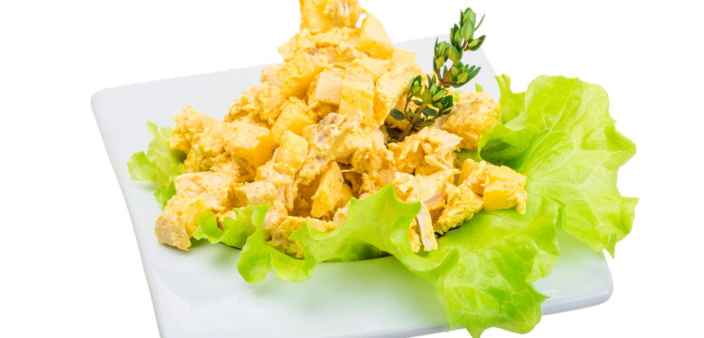 Antioxidant Recipes: Curry Chicken Salad