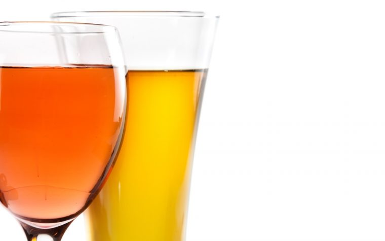 wine and beer and breast cancer risk