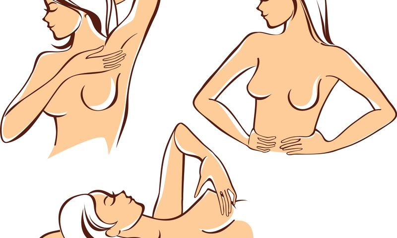 Breast Self-Exams: Lie Down AND Stand Up