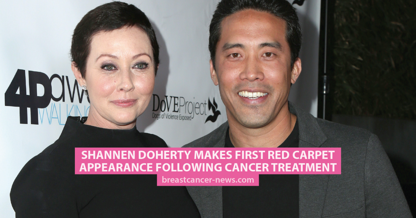 Shannen Doherty Makes First Red Carpet Appearance Following Cancer